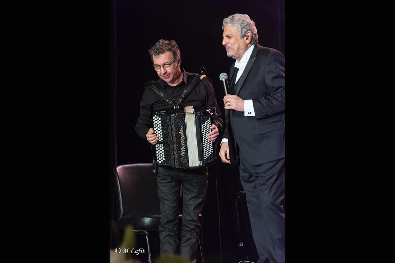 Enrico Macias et Thierry Roques