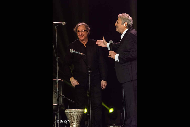 Enrico Macias et Serge Haouzi dit «Zizi»