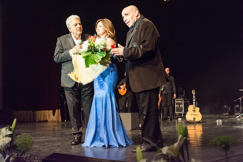 Sara Serour, Ahmad Youssef et Enrico Macias